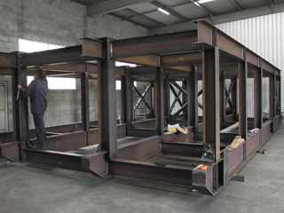 heavy fabrication for mining and quarries detail