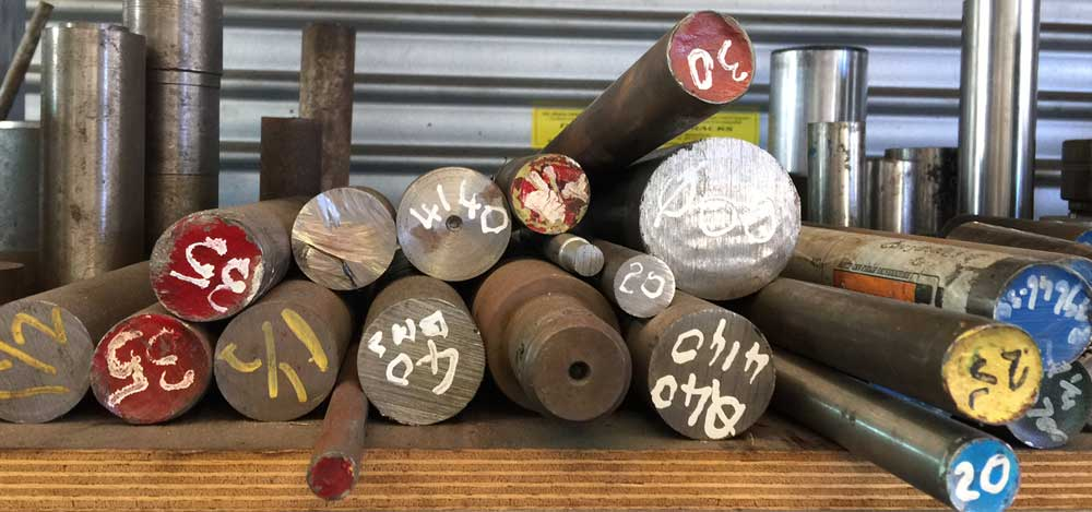 steel shaft machining rods