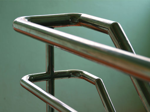 metal fabrication hand rail detail