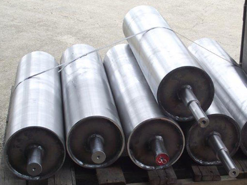 tail drums for conveyor belt fabricated and machined
