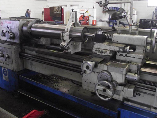 precision lathe work machine